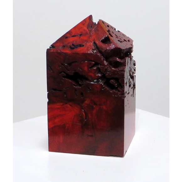 Red Structure 1 sculpture