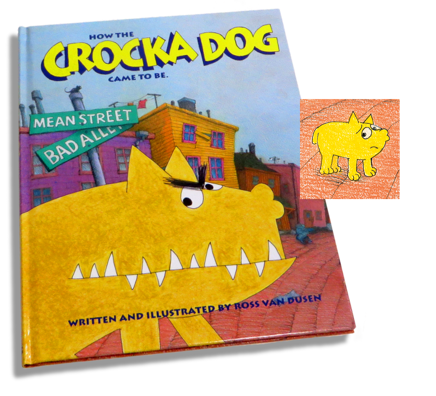 How The Crocka Dog Came To Be book
